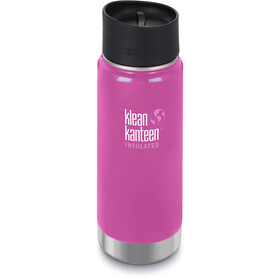 Klean Kanteen Wide Vacuum Insulated Flasche Café Cap 2.0 473ml wild orchid